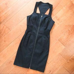 Bebe Black Denim Dress